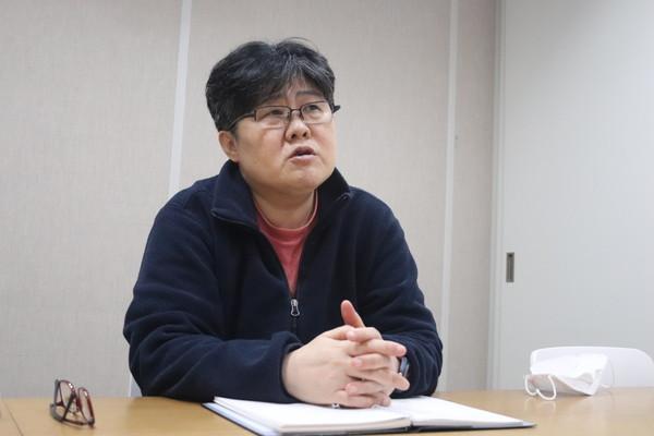 조진경 십대여성인권센터 대표. (사진=뉴스포스트 김혜선 기자)